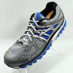 Brooks Beast Running Shoes Blue/Silver Size 14 D